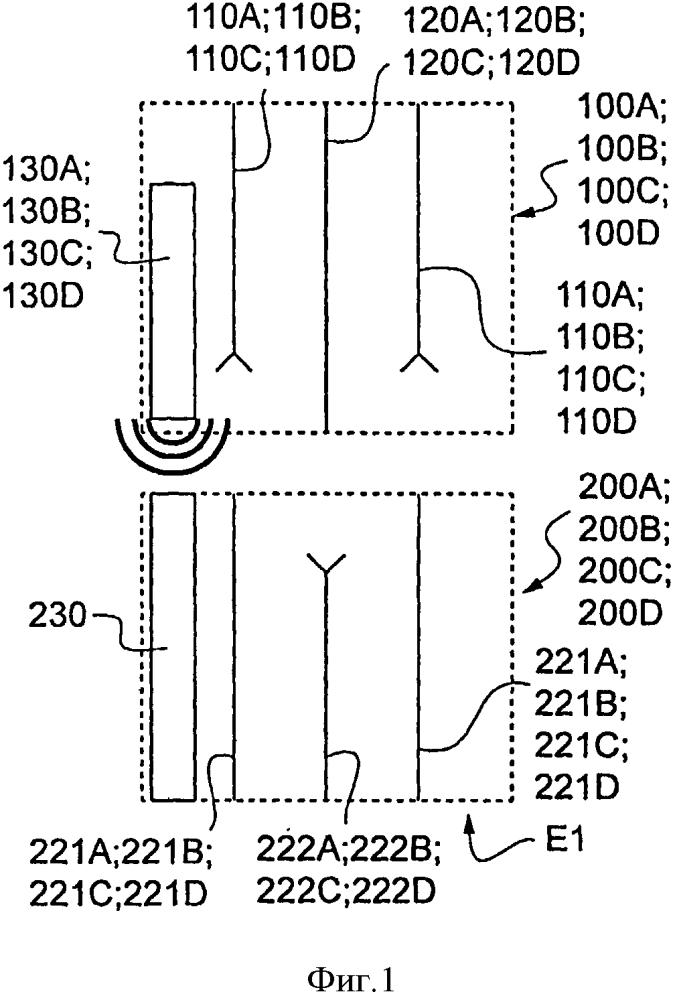 Электрическая розетка, оснащенная средствами идентификации, соответствующие электрическая вилка и электрический разъем