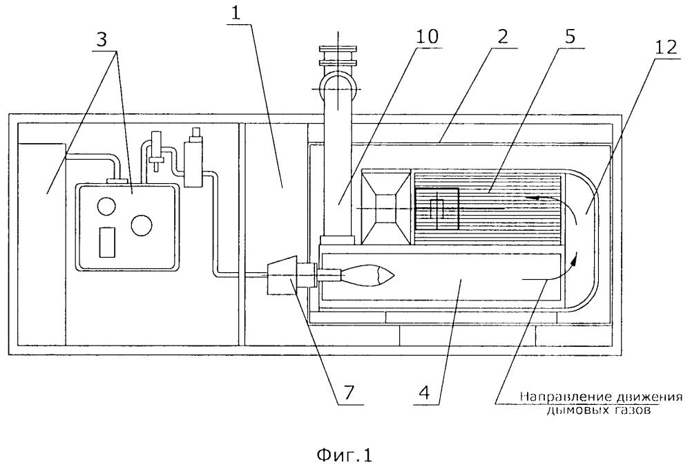 Газовая воздухонагревательная установка
