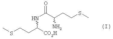 Получение и применение метионилметионина в качестве добавки к кормам для рыб и ракообразных