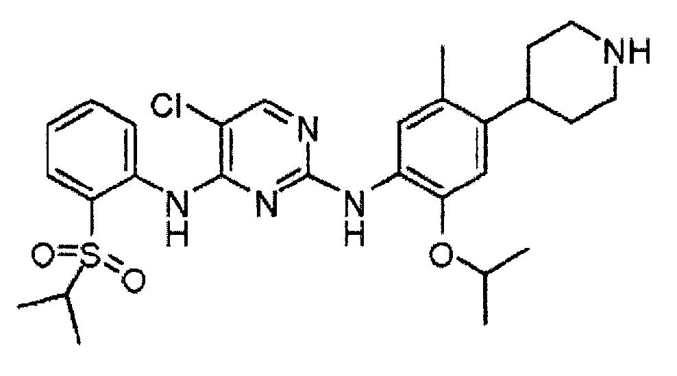 Кристаллические формы 5-хлор-n2-(2-изопропокси-5-метил-4-пиперидин-4-ил-фенил)-n4-[2-(пропан-2-сульфонил)-фенил]-пиримидин-2,4-диамина