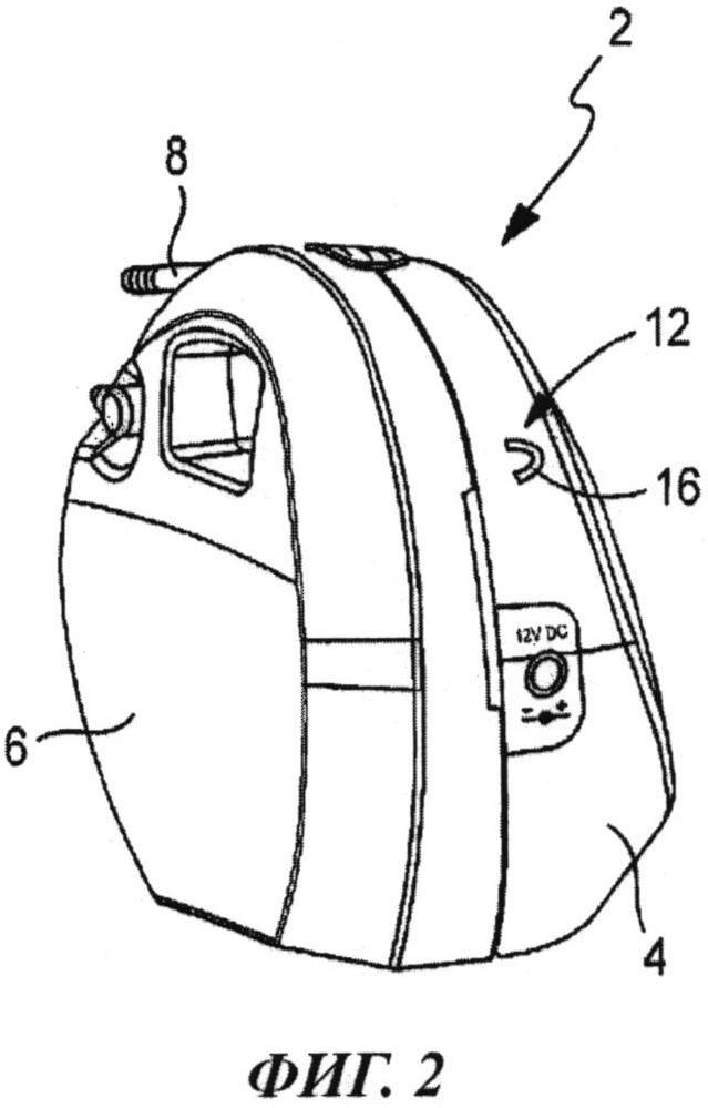 Устройство для создания вакуума с целью вакуумирования раны, включающее устройство для удерживания или переноски