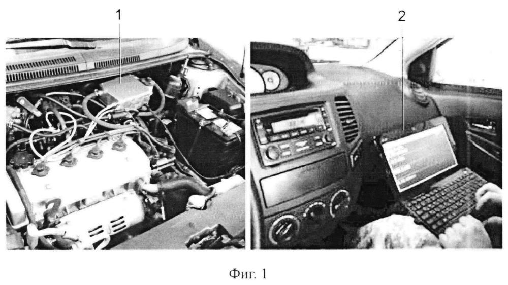 Монитор системы подачи бензина и способ диагностики системы подачи бензина на движущемся автомобиле</span>