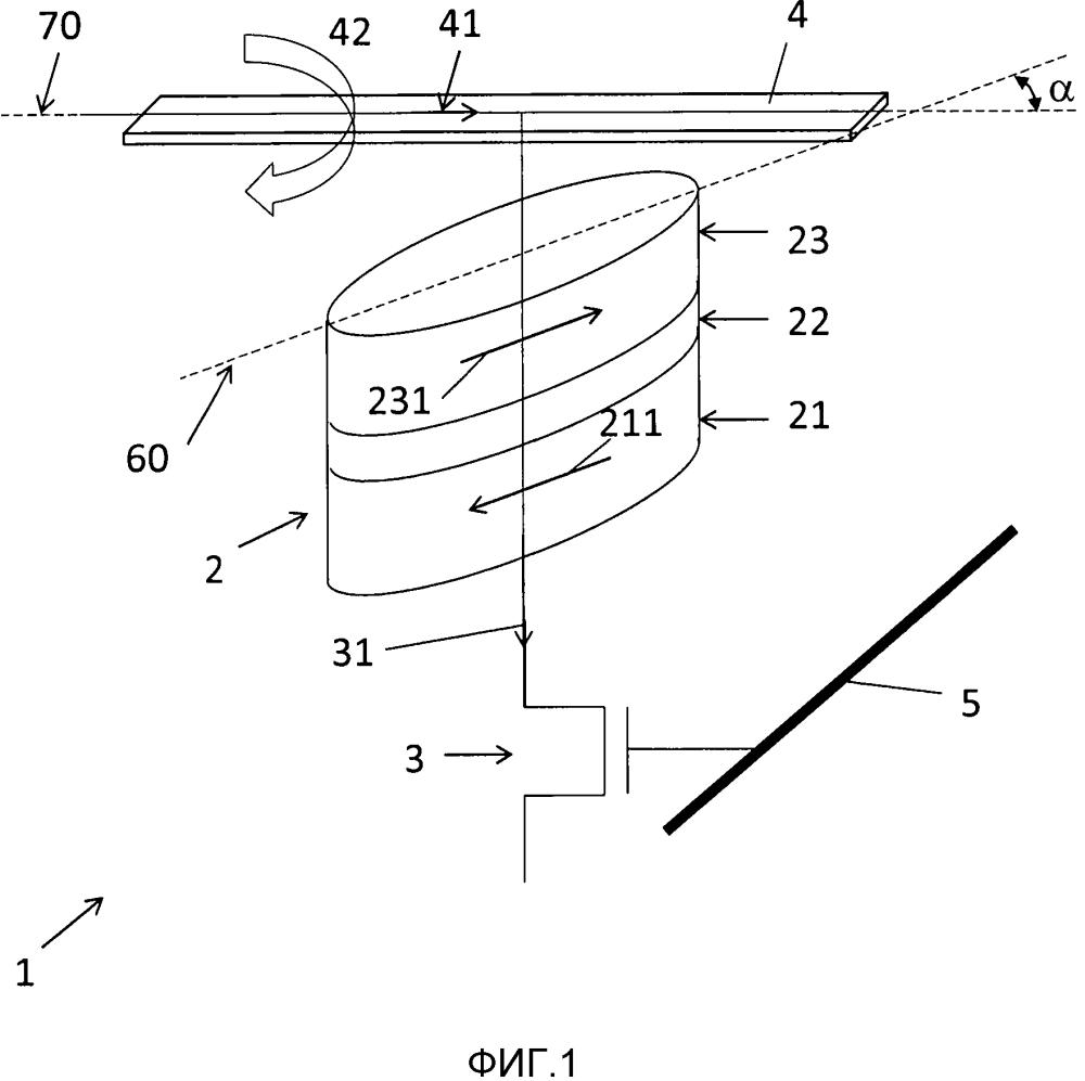 Ячейка магнитной памяти с произвольным доступом с улучшенным рассеиванием переключающего поля
