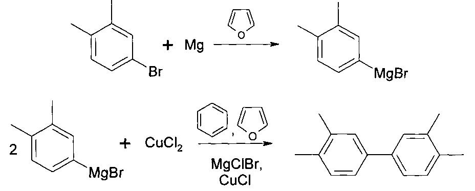 Способ получения 3, 3, 4, 4-тетраметилдифенила