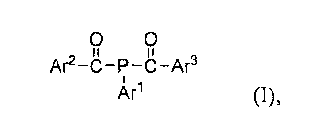 D1479 устойчивый жидкий бис(ацил)фосфиновый фотоинициатор и его использование в радиационно-отверждаемых композициях