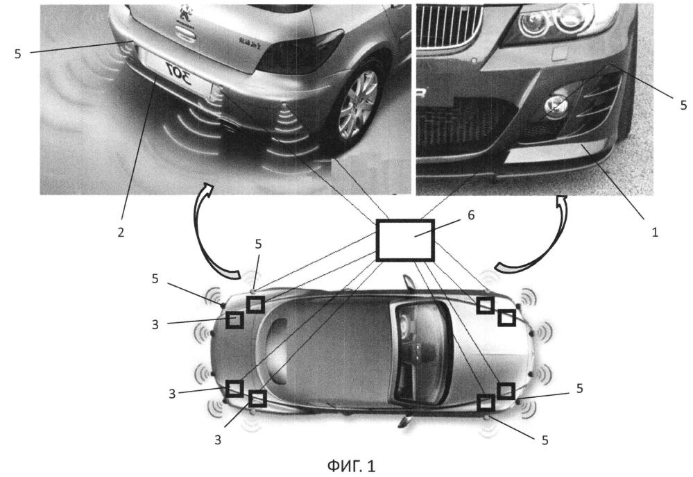 Устройство защиты автомобиля при столкновении (варианты)