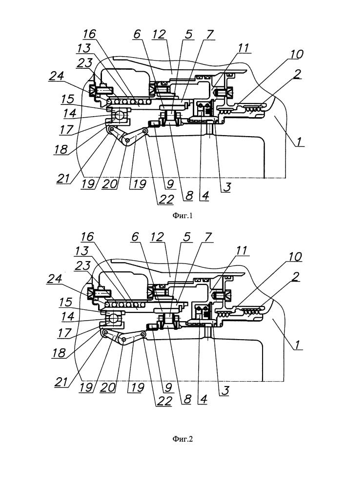 Радиальная упругая опора ротора турбомашины