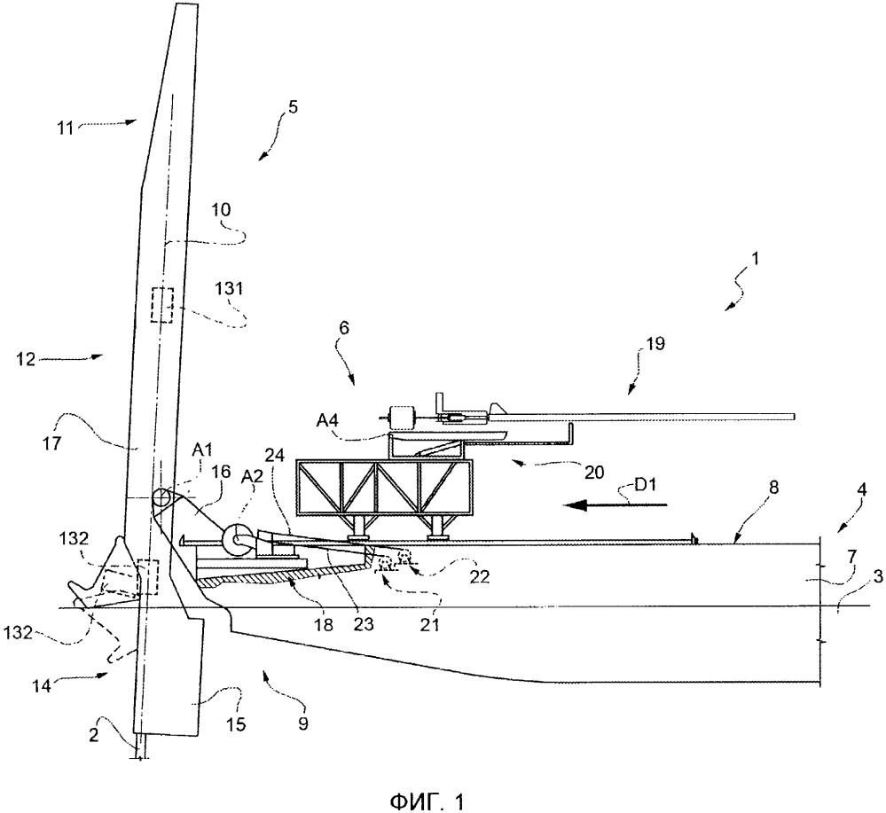 Судно-укладчик для укладки трубопроводов на дно водоема и способ работы судна-укладчика