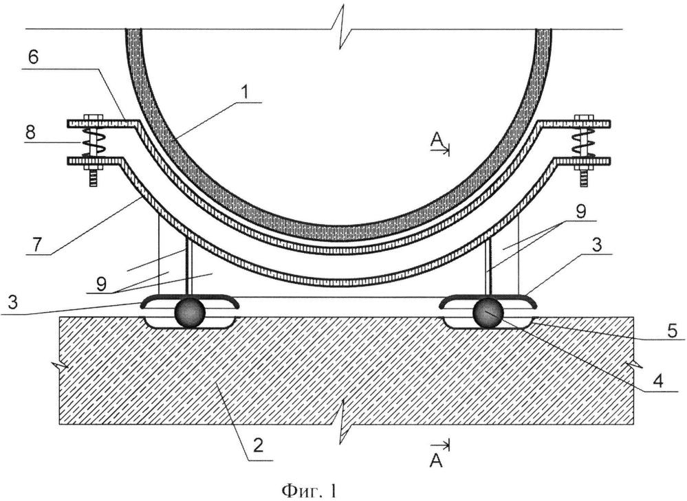 Сейсмостойкий трубопровод