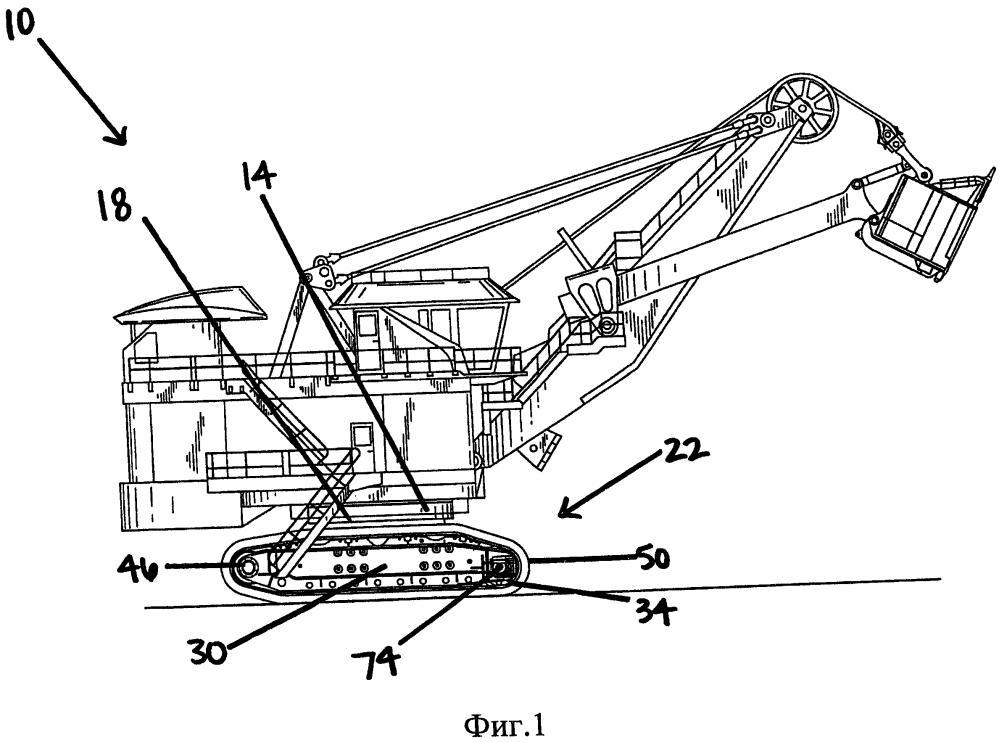 Гусеничный узел и узел натяжного колеса (варианты)