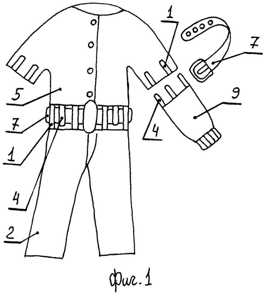 Соединительные элементы трансформируемой одежды