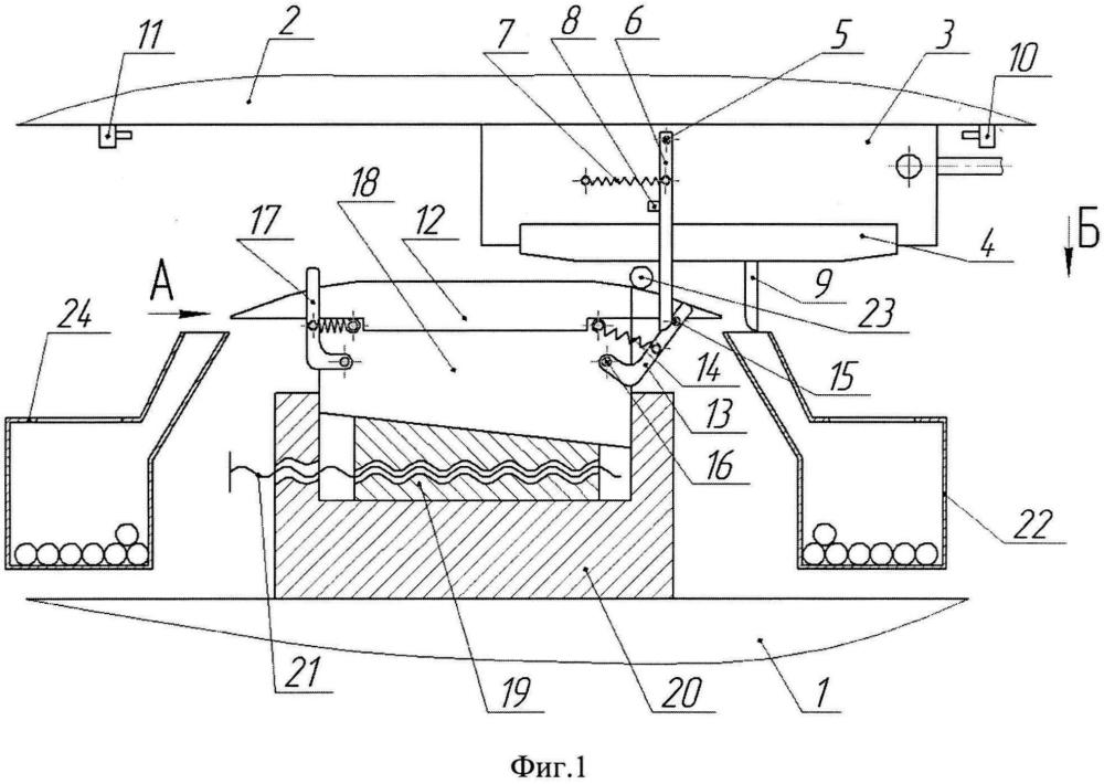 Устройство для обкатывания цилиндрических изделий плоскими инструментами