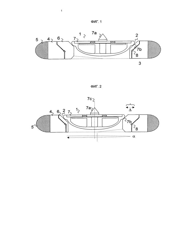 Регулируемое закрывающее устройство загрузочного люка для загрузки камеры коксовой печи коксовой батареи