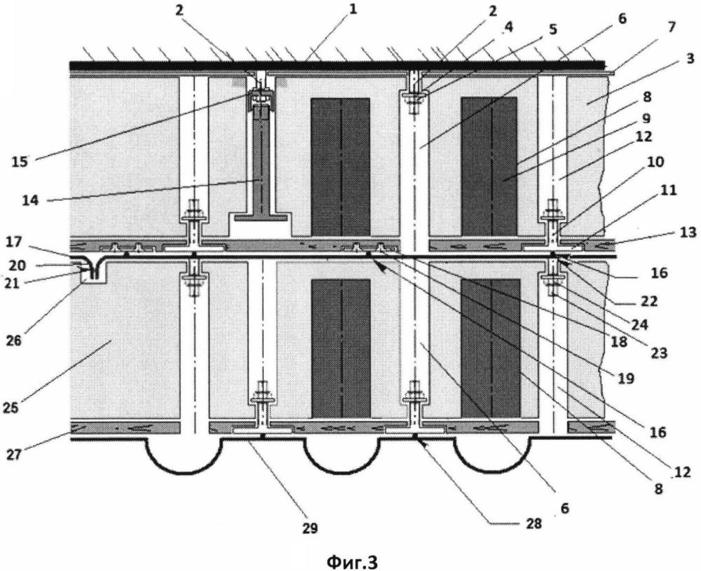 Мембранный танк для сжиженного природного газа (тип вм)