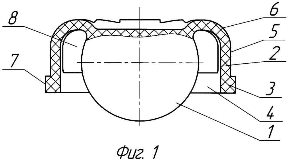 Запорный орган клапана бурового переливного