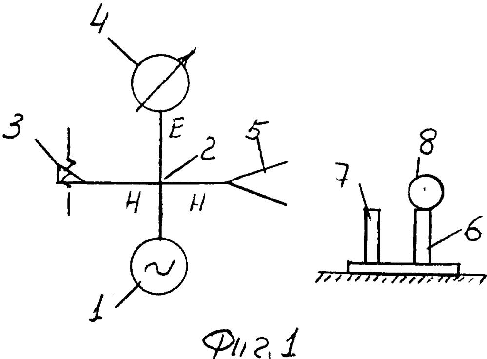 Радиоизмерительная установка для измерения эффективной площади рассеяния радиолокационных целей