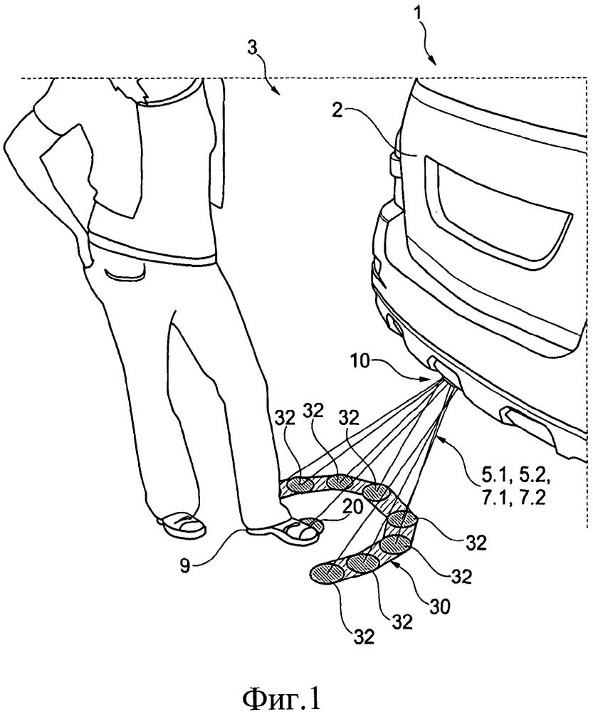 Оптическое измерительное устройство для транспортного средства и соответствующее транспортное средство