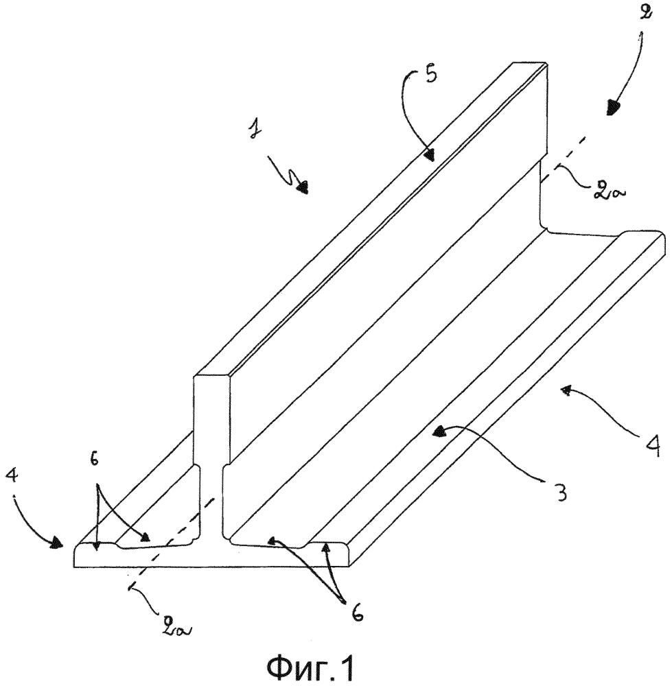 Направляющая для лифтов или подъемников и способ изготовления упомянутой направляющей