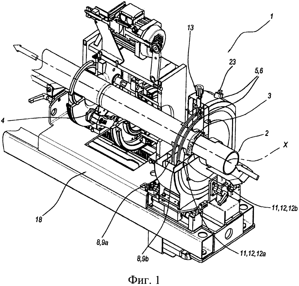Способ и устройство для разрезания трубы, изготовленной из термопластичного материала