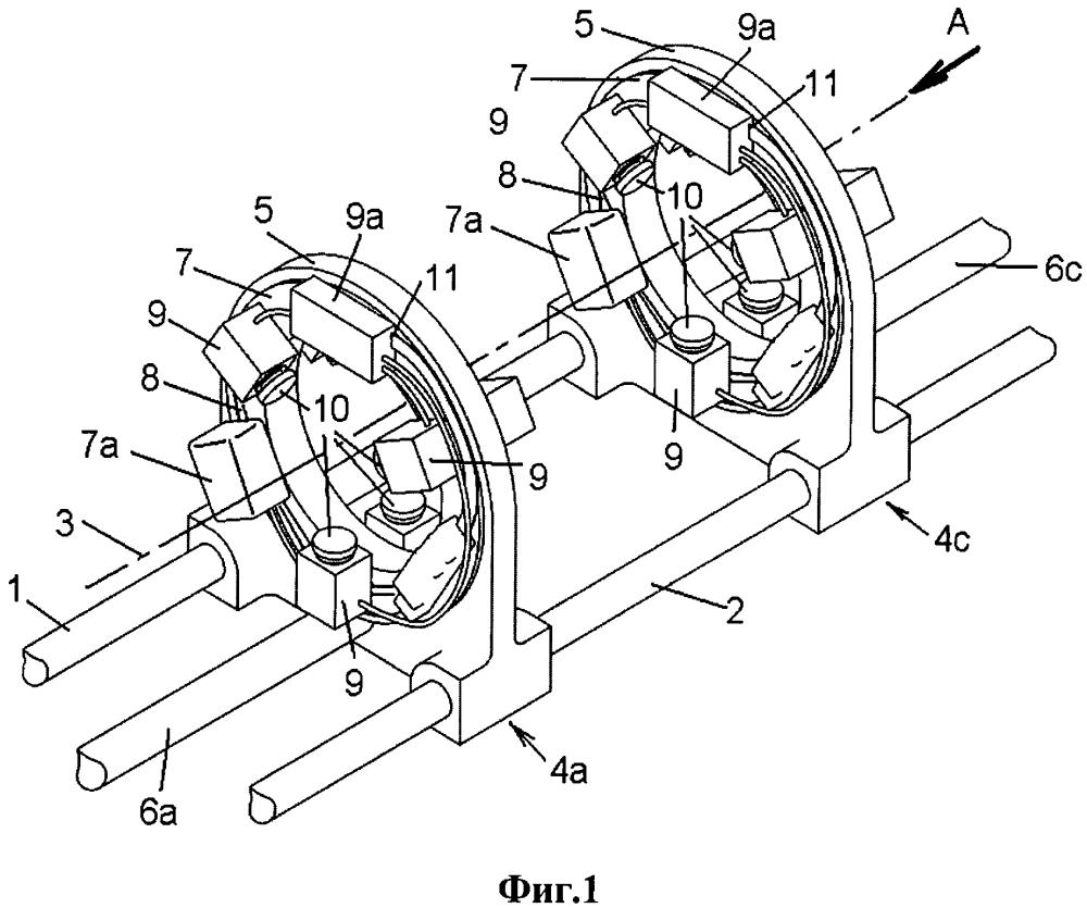 Способ механической обработки асимметричной заготовки с одной установки, станок и устройство для закрепления заготовки