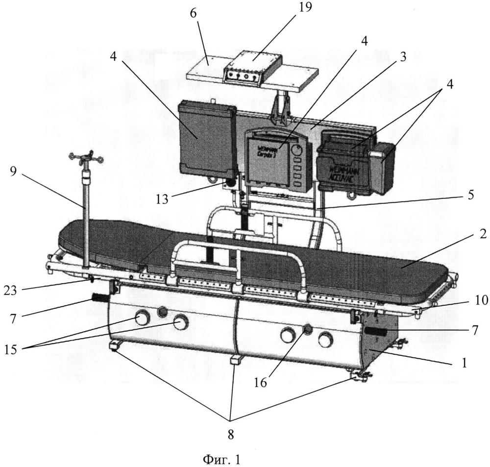 Мобильный медицинский модуль (варианты)