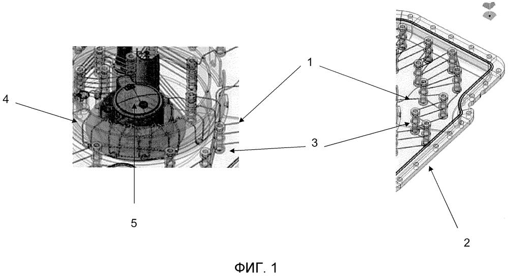 Система хранения присадки к выхлопным газам двигателя внутреннего сгорания