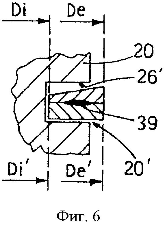 Уплотнительный узел поршня двигателя внутреннего сгорания