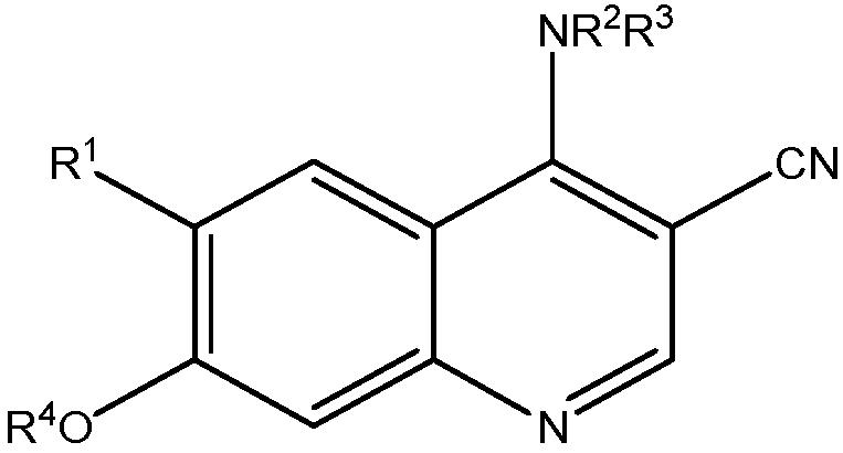 Цианохинолиновые производные