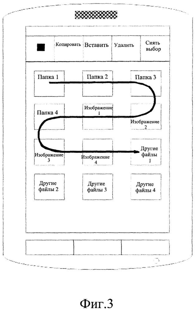 Способ быстрой обработки файлов смартфона и смартфон