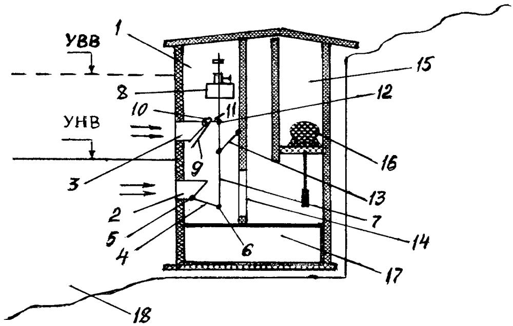 Водоприемное сооружение для забора воды из поверхностных источников