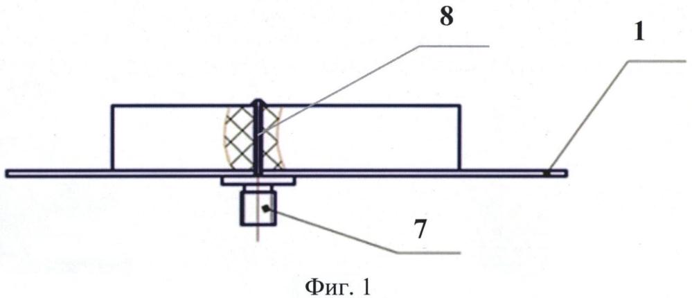 Многочастотная микрополосковая антенна