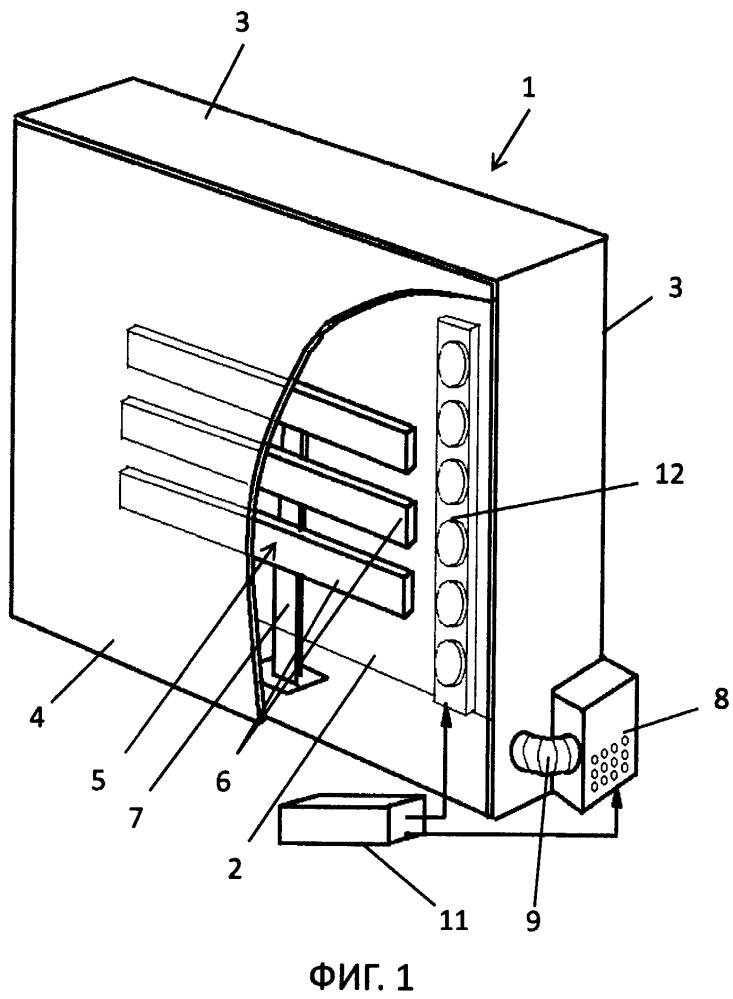 Устройство для создания объемных инсталляций