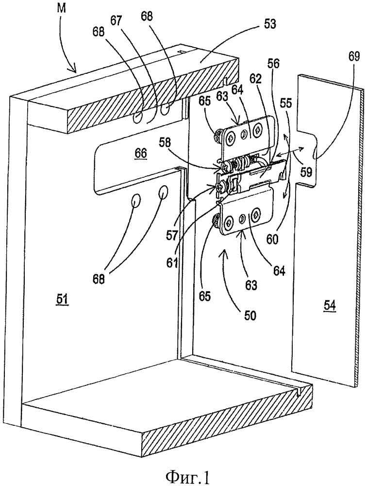 Поддерживающее устройство для мебели консольного типа