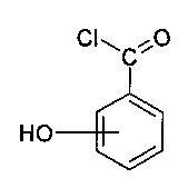 Улучшенный способ получения хлорангидридов гидроксибензойных кислот