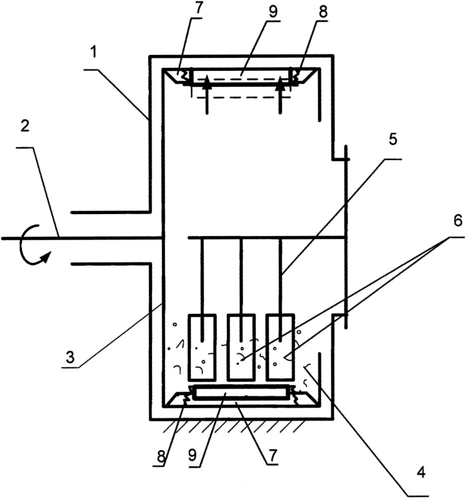 Аппарат для проверки стойкости антикоррозионных покрытий на истирание
