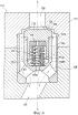 Дифференциальный клапан, тарельчатый клапан, поршневой компрессор, способ уменьшения или подавления резонансного распространения ударной волны в пружине в дифференциальном клапане и способ работы поршневого компрессора