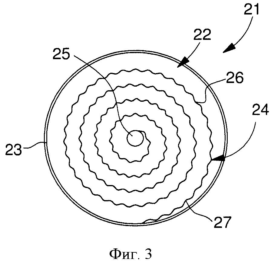 Ходовая пружина, содержащая дополнительные изгибы для накопления энергии