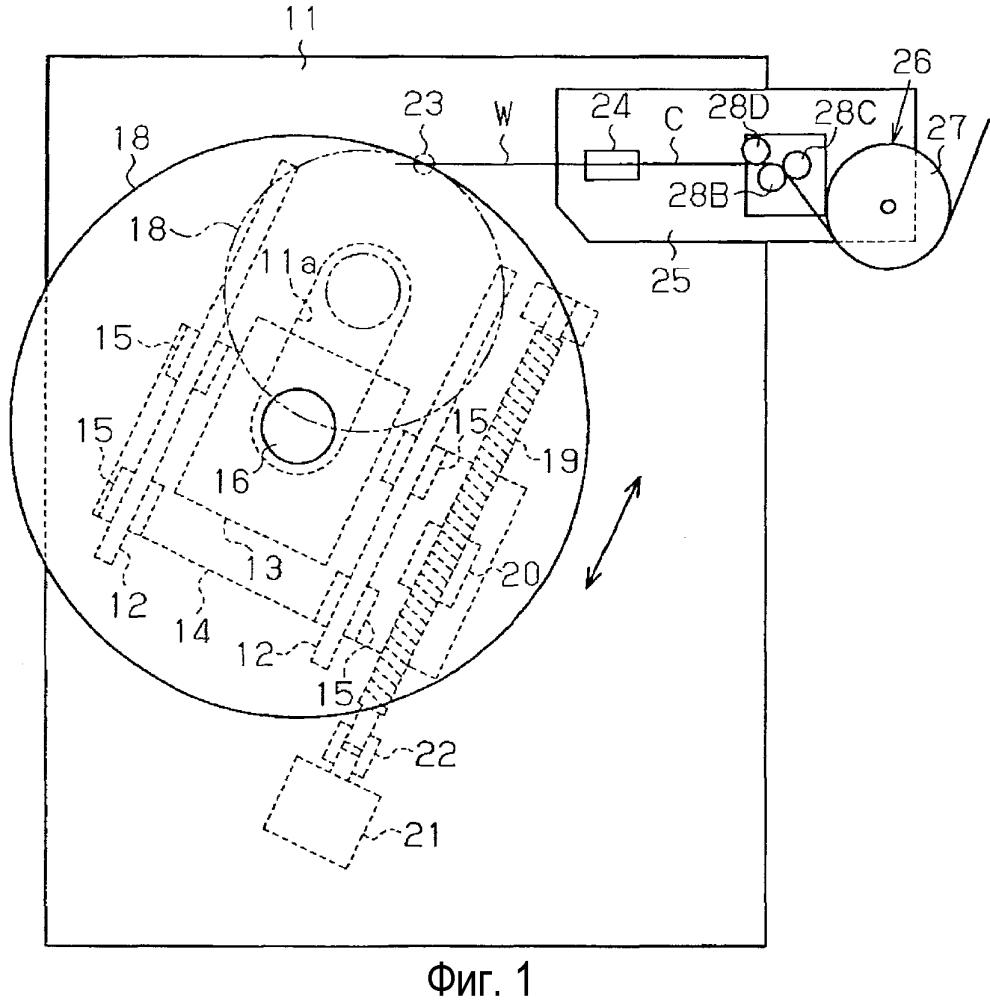 Устройство для намотки бортового кольца