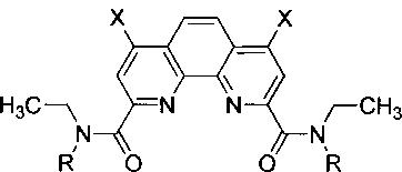 Диамиды 4,7-дизамещенных 1,10-фенантролин-2,9-дикарбоновых кислот, способ их получения и экстракционная смесь на их основе