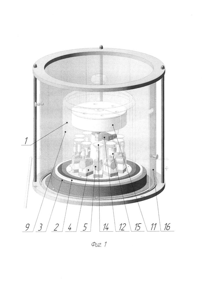 Установка для заполнения изделий микромеханики технической жидкостью