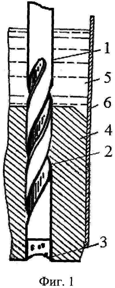Анодный штырь электролизера с самообжигающимся анодом
