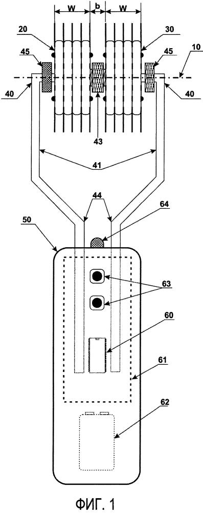 Ветеринарное устройство для электропунктуры