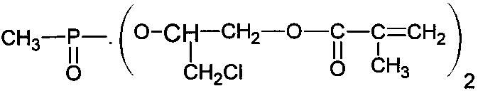 Способ получения ди-(метакрилокси-3-хлорпропокси-2) метилфосфоната