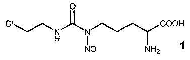 Способ получения nδ-нитрозо-nδ-[(2-хлорэтил)карбамоил]-l-орнитина