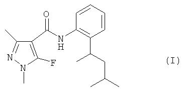 Пенфлуфен в качестве средства защиты древесины от разрушающих древесину базидиальных грибов