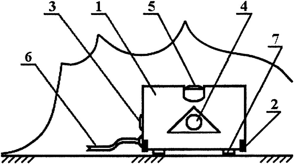 Незагрязняемое бескнопочное указательное устройство мышь