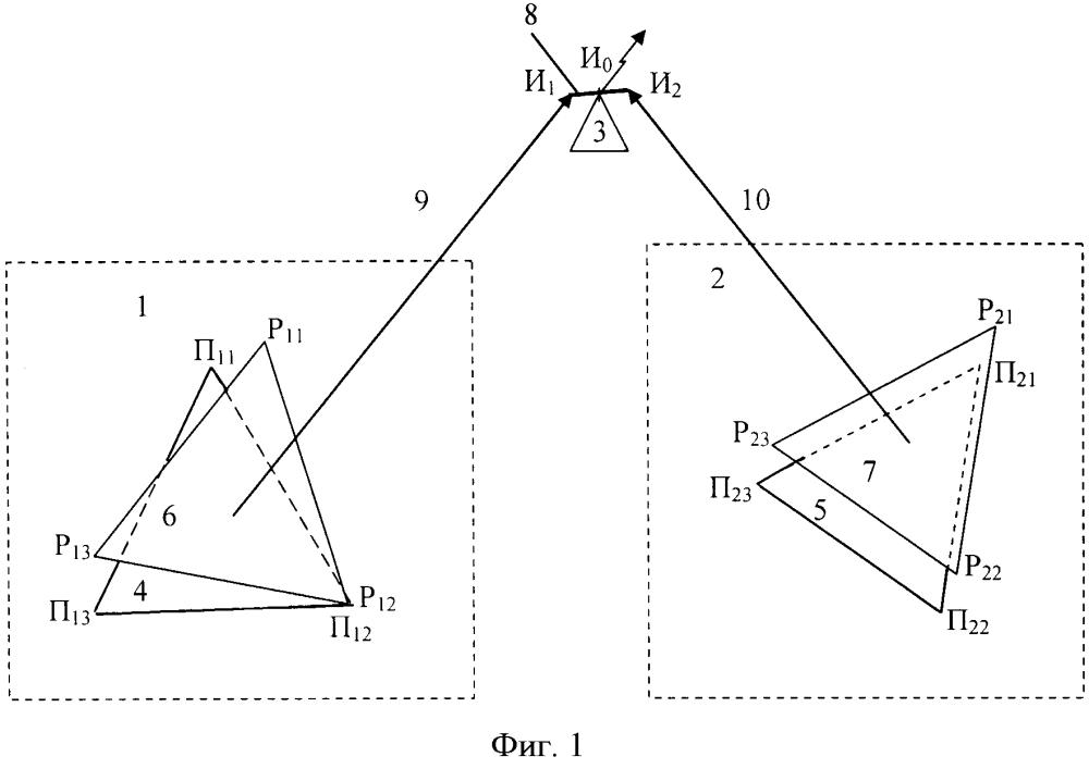 Способ определения пространственных координат источника радиоизлучения
