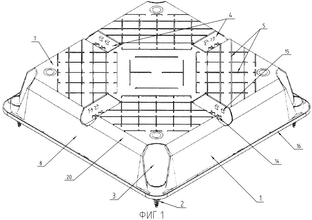 Пустотообразующий элемент несъёмной опалубки для железобетонных многопустотных плитных конструкций