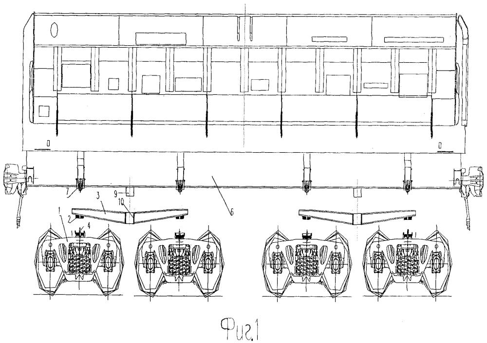 Восьмиосное рельсовое транспортное средство