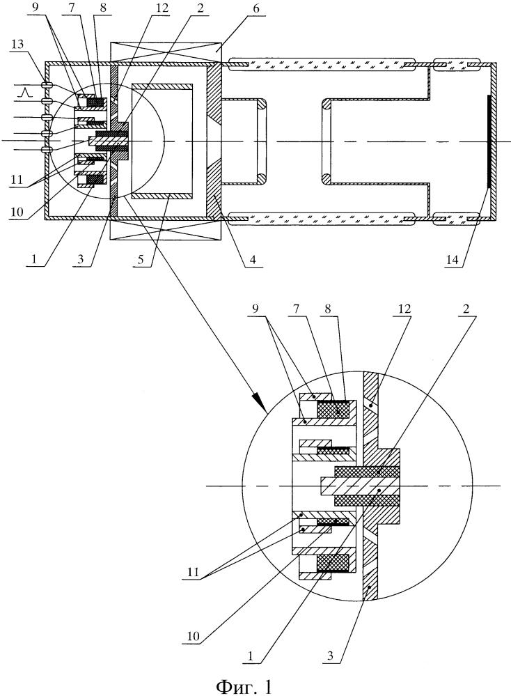 Универсальная нейтронная трубка с электротермическими инжекторами рабочего газа